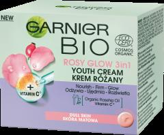 Garnier Bio 3in1 Rosy Face Cream for Dull Skin (50mL)