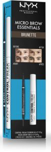 NYX Professional Makeup Micro Brow Essentials Brunette
