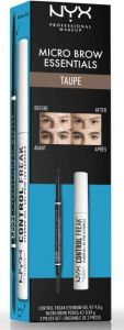 NYX Professional Makeup Micro Brow Essentials Taupe