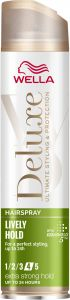 Wella Deluxe Lively Extra Strong Hold Hairspray (250mL)