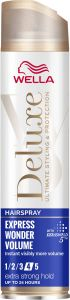 Wella Deluxe Express Wonder Volume Extra Strong Hold Hairspray (250mL)