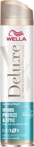 Wella Deluxe Hydro Protect and Style Extra Strong Hold Hairspray (250mL)