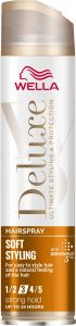 Wella Deluxe Soft Styling Strong Hold Hairspray (250mL)