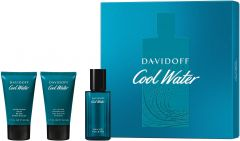 Davidoff Cool Water Pour Homme EDT (40mL) + SG (50mL) + ASB (50mL)