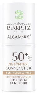 Laboratoires de Biarritz Certified Organic Tinted Sunscreen Stick SPF50+ (9g)
