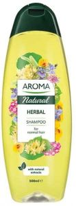 Aroma Natural Herbal Shampoo For Normal Hair (500mL)