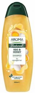 Aroma Natural Shampoo Egg&honey For Damaged Hair (500mL)