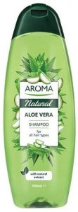 Aroma Natural Aloe Vera Shampoo For All Hair Types (500mL)