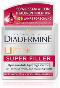 Diadermine Lift + Super Filler Hyaluron Anti-Wrinkle Night Cream (50mL)