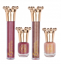 Shopping Queen Trend Queen Nail Polish And Lipgloss Set