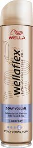 Wella Wellaflex Volume Boost Extra Strong Hold Hairspray (250mL)