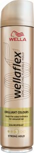 Wella Wellaflex Brilliant Colour Strong Hold Hairspray (250mL)