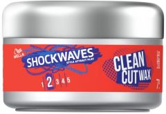 Wella Shockwaves Clean Cut Styling Wax (75mL)