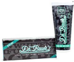 Dr. Bauer´s Black Mint Whitening Toothpaste (No Fluor) (75mL)