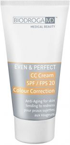 Biodroga MD Even & Perfect CC Cream SPF20 Anti Aging Perfect Teint For Skin Tending To Redness (40ml)