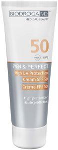 Biodroga MD Even & Perfect High UV Protection SPF50 (75mL)
