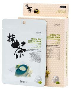 Mitomo Green Tea Essence Mask Box (4pcs)