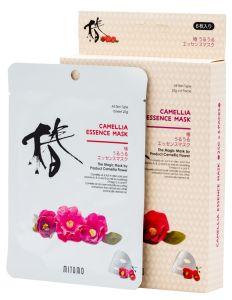 Mitomo Camelia Essence Mask Box (4pcs)