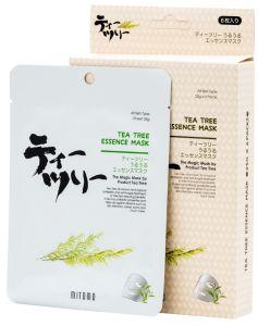 Mitomo Tea Tree Essence Mask Box (4pcs)