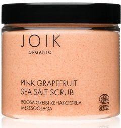Joik Organic Pink Grapefruit Sea Salt Scrub (240g)