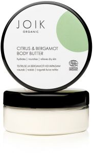 Joik Organic Citrus & Bergamot Body Butter (150mL)