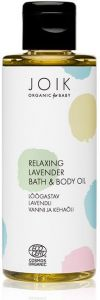 Joik Organic Relaxing Lavender Bath & Body Oil (100mL)