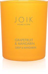 Joik Home & Spa Vegetable Wax Candle Grapefruit & Mandarin (150g)
