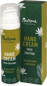 Nurme Hand Cream Hemp + Clary Sage (50mL)