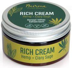 Nurme Rich Cream Hemp + Clary Sage (100mL)