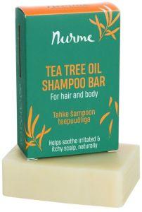 Nurme Tahke Šampoon Teepuuõliga (100g)