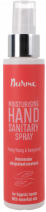 Nurme Moisturising Hand Sanitary Spray Ylang-Ylang and Bergamot (100mL)