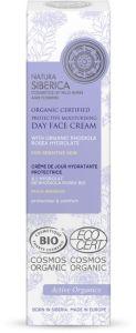 Natura Siberica  Organic Certified Protective Moisturising Day Face Cream For Sensitive Skin (50mL)