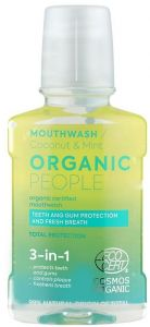 Organic People Organic Certified Mouthwash Coconut & Mint (250mL)