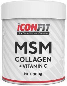 ICONFIT Msm Collagen W. Vitamin C (300g) Watermelon