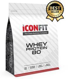 ICONFIT Whey Protein 80 (1000g) Strawberry