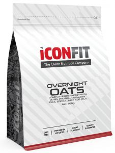 ICONFIT Overnight Oats (700g) Raspberry-coconut