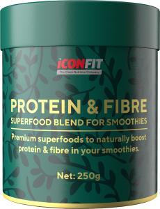 ICONFIT Smoothie Protein & Fibre (250g) Blackcurrant
