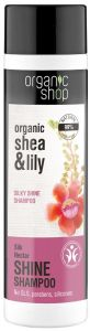 Organic Shop Natural Silky Shine Eco-shampoo Silk Nectar Bdih (280mL)