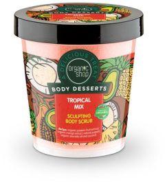 Organic Shop Body Desserts Tropical Mix Sculpting Body Scrub (450mL)
