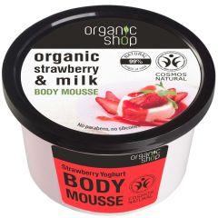 Organic Shop Stawberry&milk Body Cream (250mL)