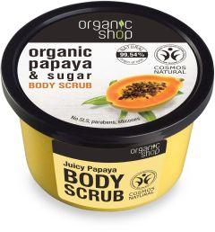 Organic Shop Juicy Papaya Body Scrub (250mL)
