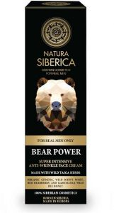 Natura Siberica Men Super Intensive Anti-wrinkle Face Cream Bear Power (50mL)