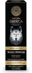 Natura Siberica Men Super Toning Face Cream Wolf Power (50mL)
