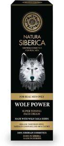 Natura Siberica Men Super Toning Face Cream Wolf Power (50mL)