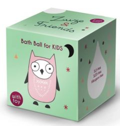 Zuze & Friends Bath Ball Owl (60g)