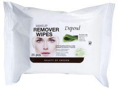 Depend Makeup Remover Wipes (25pcs)