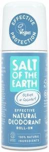 Salt of the Earth Ocean & Coconut Natural Roll On Deodorant (75mL)