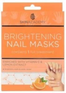 Skin Academy Brightening Nail Mask With Vitamine C And Lemon Extract (2x5pcs)
