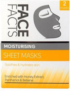 Face Facts Moisturizing Sheet Masks (2pcs)