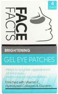 Face Facts Brightening Gel Eye Patches (4pair)